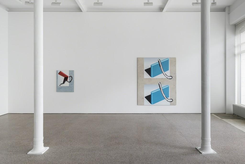 Installation view, Anne Neukamp, 2017, Galerie Greta Meert