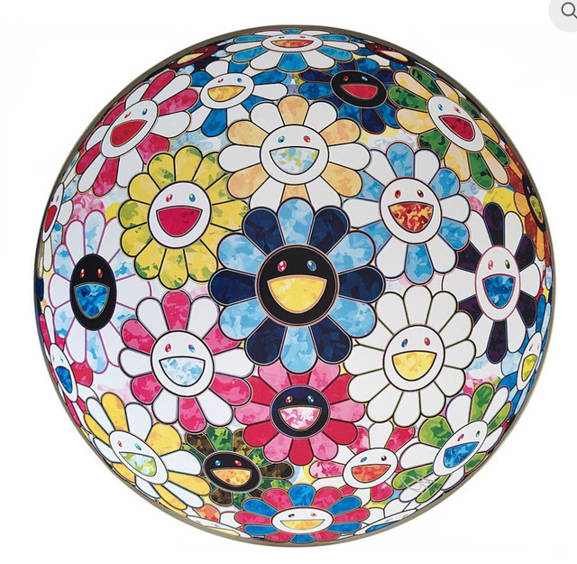 Takashi Murakami, 'Flower Ball: Painterly Challenge', 2016, MSP Modern
