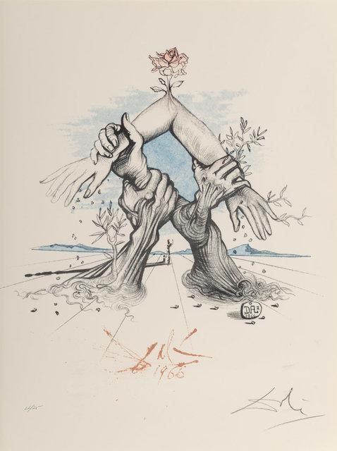 Salvador Dalí, 'Five Continents', 1966, Heritage Auctions