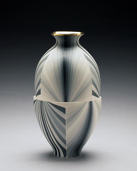 , 'Twisting Greyscale Vase,' 2017, Duane Reed Gallery