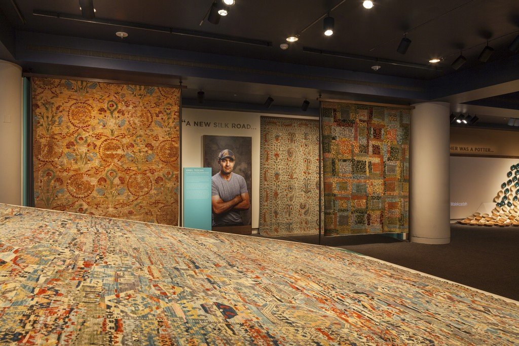 "Gallery View, ""Turquoise Mountain: Artists Transforming Afghanistan"", Arthur M. Sackler Gallery, Smithsonian Institution"