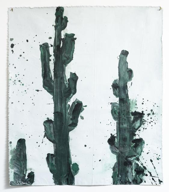 , 'Cactus Inhabitation,' 2016, Samuel Freeman