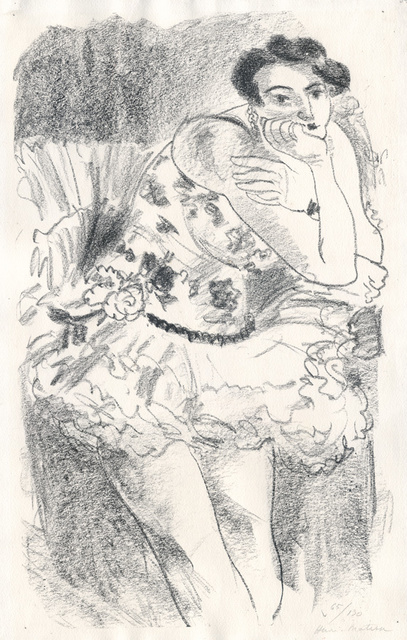 , 'Danseuse debout, accoudée,' 1925-1926, Conrad R. Graeber Fine Art