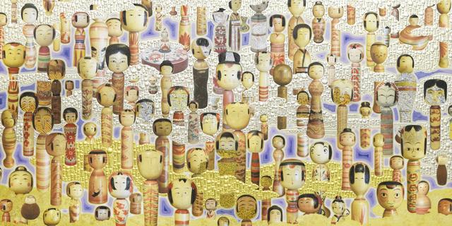 , 'MAKYO kokeshi,' , Art Front Gallery