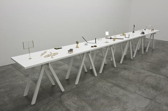 , 'El Arte de Navegar: objetos de duda y de certeza,' 2011-2014, Casa Triângulo