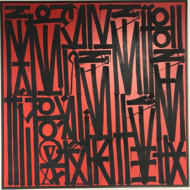 RETNA, 'Untitled Red', 2017, Chase Contemporary