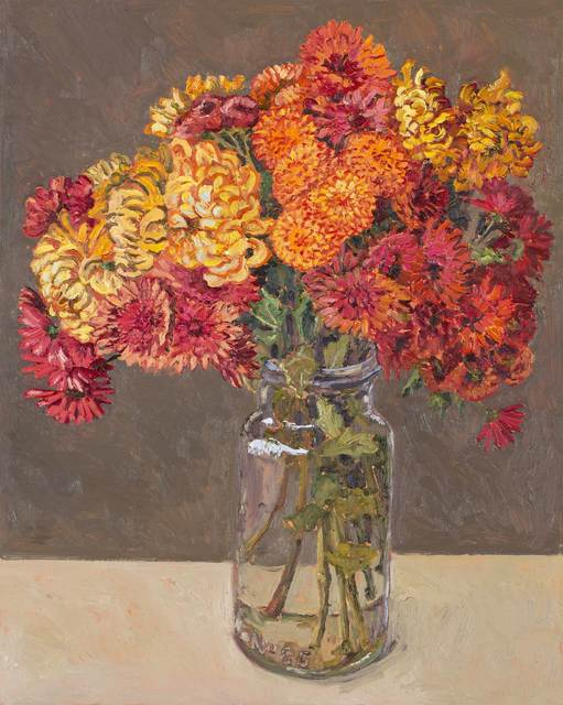 , 'Chrysanthemums,' 2018, Jan Murphy Gallery