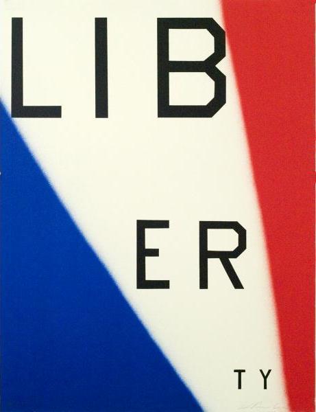 Ed Ruscha, 'Liberty', 2011, Upsilon Gallery