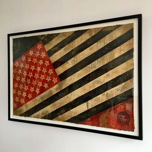 Shepard Fairey, 'Flag', 2010, Galerie C.O.A