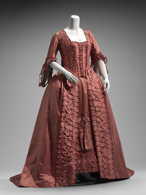 , 'Dress in two parts, French,' ca. 1760, Legion of Honor
