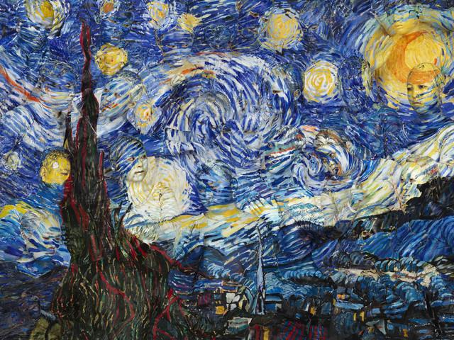 , 'Starry Night,' 2014, HDM Gallery