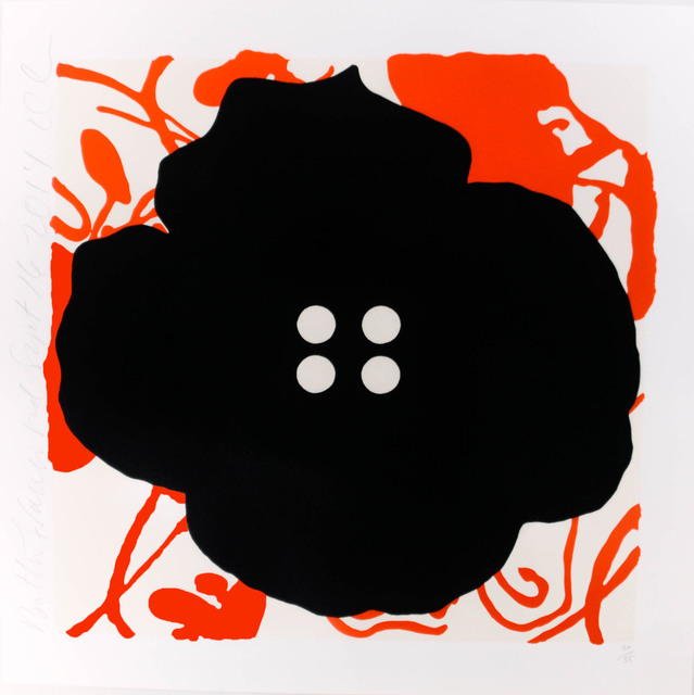 , 'Button Flower Red,' 2014, Heather Gaudio Fine Art