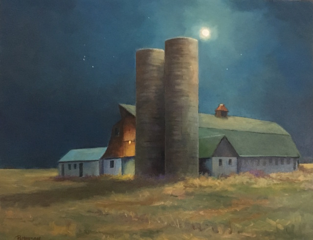 , 'Night Lights,' 2017, Peninsula Gallery