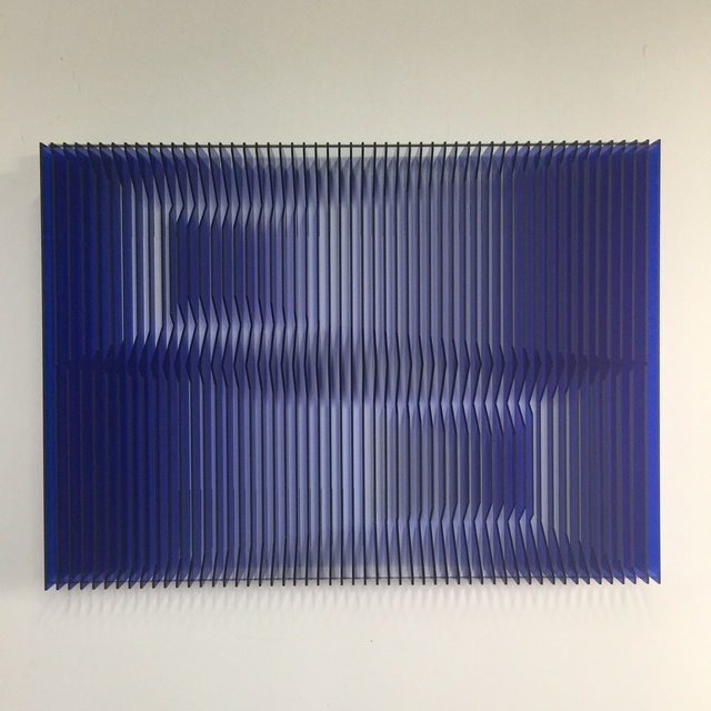 , 'Cross perspectives Blue,' 2016, Contempop Gallery
