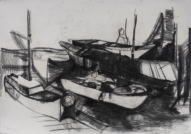, 'Boats,' 2017, ArtWizard