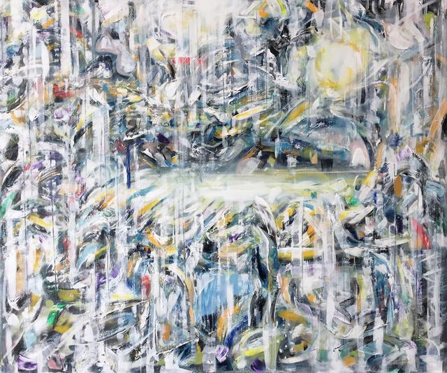 , 'The sky was like a sunflower (kiefer trip),' 2017, Kristin Hjellegjerde Gallery