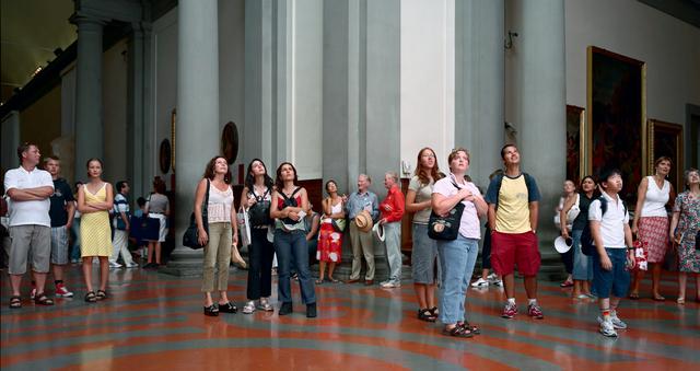 , 'Audience 4, Florence,' 2004, Huxley-Parlour