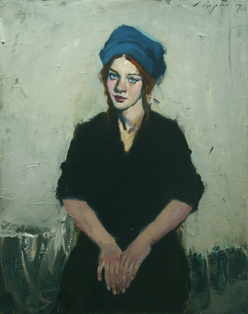 , 'Blue Hat,' 2019, Pontone Gallery