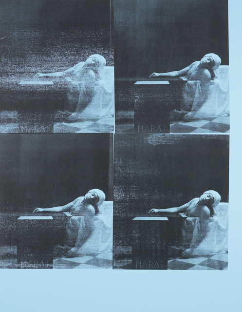 , 'Marat Pale Blue,' 2016, Galerie Krinzinger