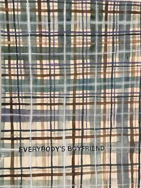 , 'Domestic Textile Series, Boyfriend,' 2017, frosch&portmann