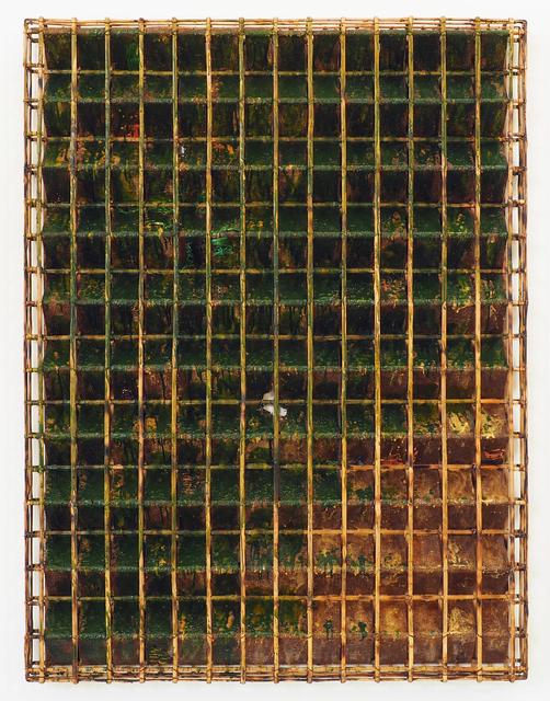 , 'Green Lines in Green Field,' 2014, Tyler Rollins Fine Art
