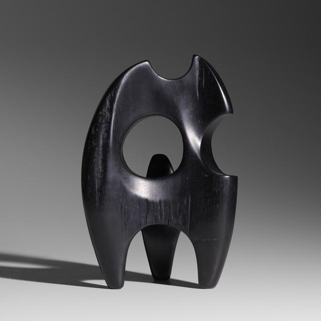 Alexandre Noll, 'Untitled', c. 1950, Sculpture, Carved ebony, Rago/Wright