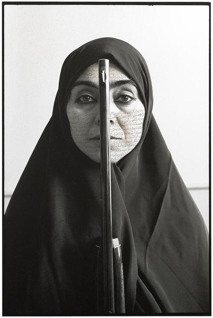 , 'Rebellious Silence, from Women of Allah series,' 1994, Galeria Filomena Soares