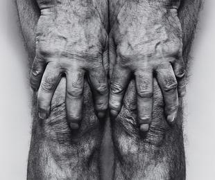 John Coplans, 'Self-Portrait (Hands spread on knees),' 1985, Phillips: Photographs (April 2017)