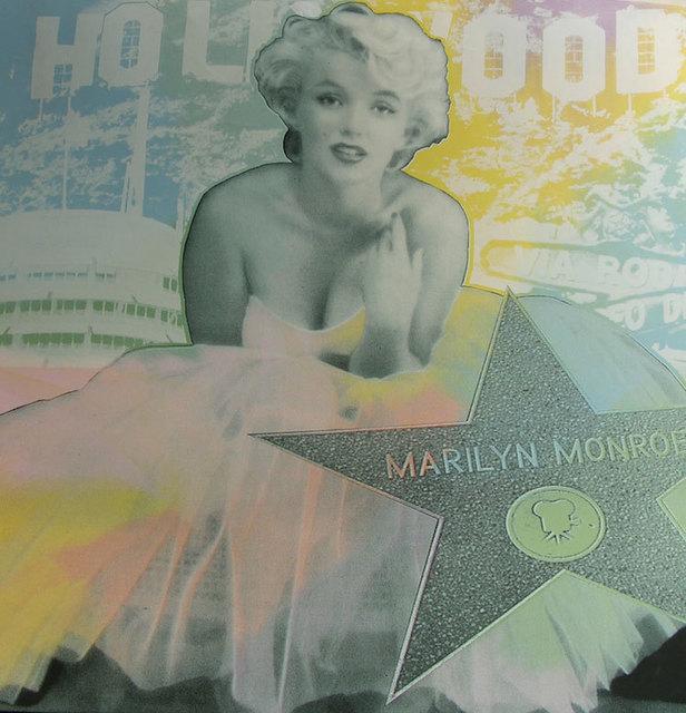 Steve Kaufman, 'Marilyn - Hollywood Star', 2008, Kings Wood Art