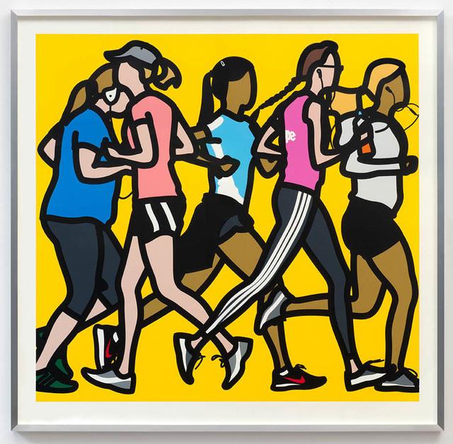 , 'Running Women,' 2016, Eternity Gallery