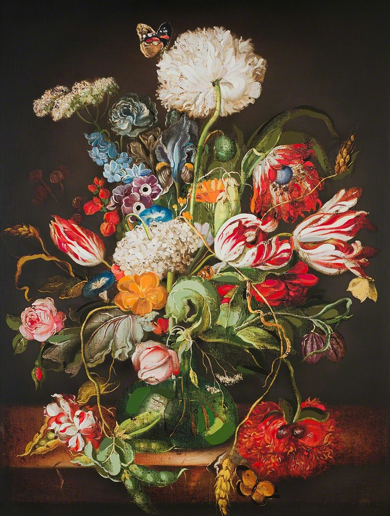 Circa 1934-1944 Small Jug Floral Design Special Section Arthur Wood