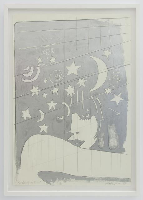 Giosetta Fioroni, '2' Liberty Notturno', 1969, Valli Art Gallery