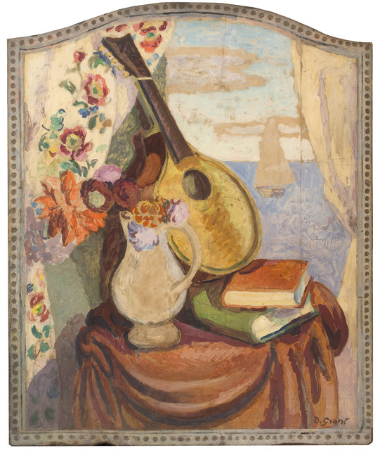 , 'Design for Fire Screen with Seascape,' 1926, Piano Nobile