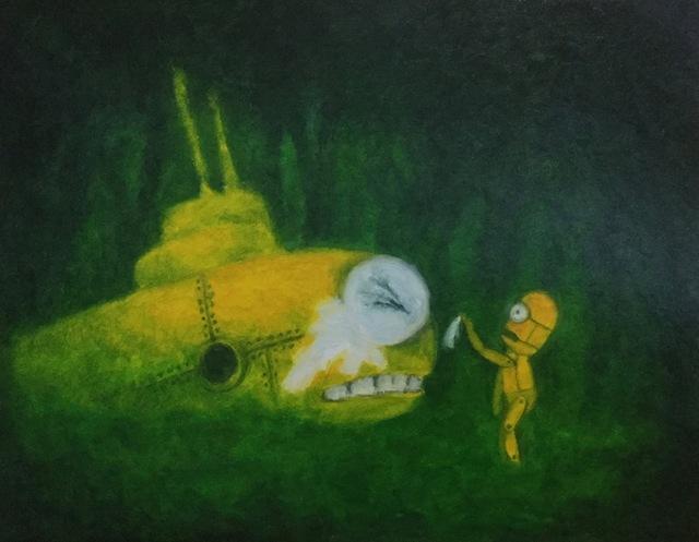 , 'Robot story,' 2016, Gallery Migo