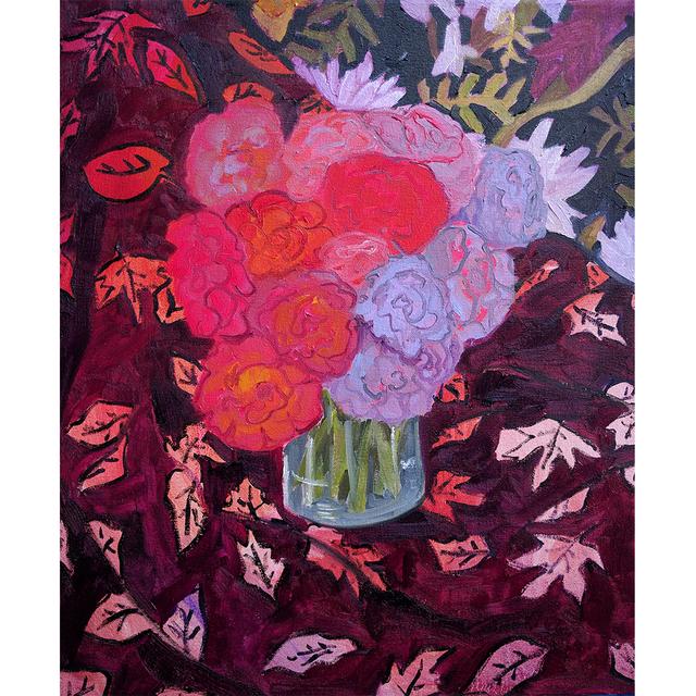 Anna Valdez, 'Summer Roses In An Autumn Palette', Tappan