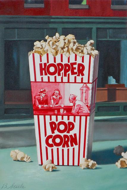, 'Hopper Popcorn,' 2017, CODA Gallery
