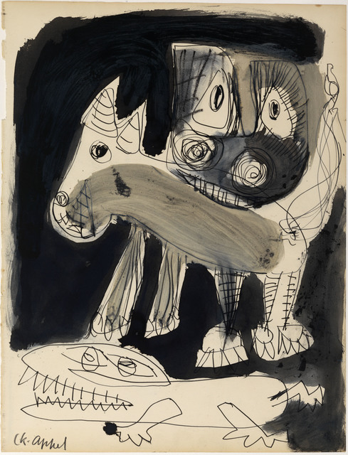 , 'Untitled,' 1949, Centre Pompidou