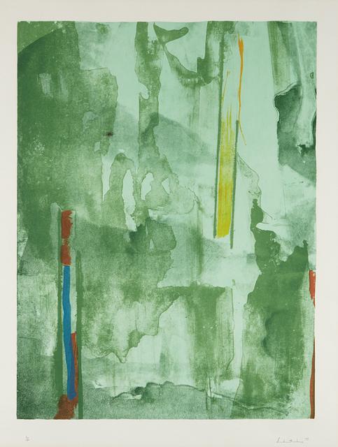 Helen Frankenthaler, 'Barcelona', 1977, Phillips