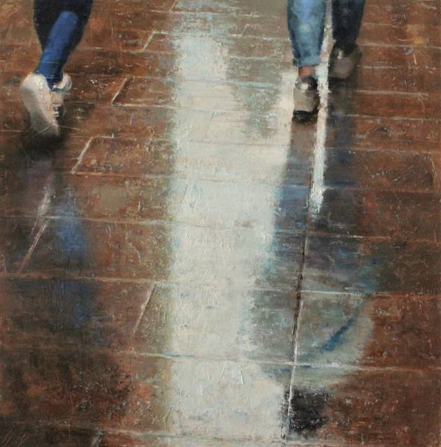 , 'Walking after the rain,' 2018, Anquins Galeria