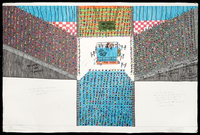 Dapper Bruce Lafitte, 'T.D.B.C. Presents Mike Go Knock Him Flat', 2013, FIERMAN