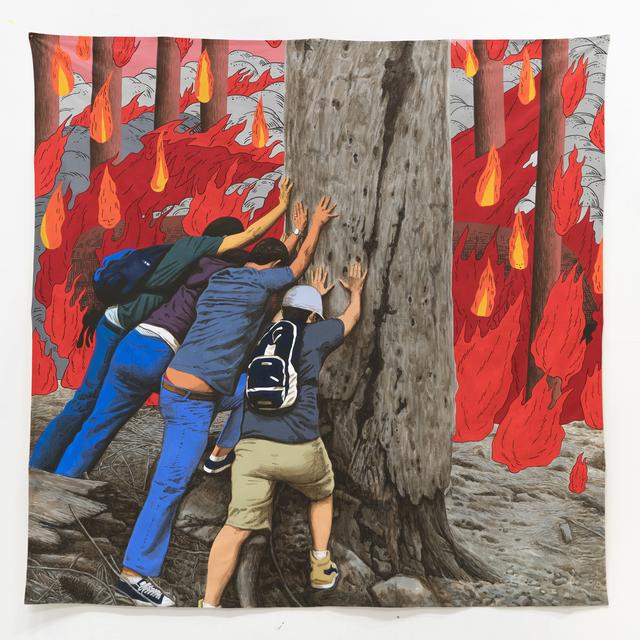 , 'To Knock this Tree Down - Crack Crack Boom,' 2017, Hakgojae Gallery