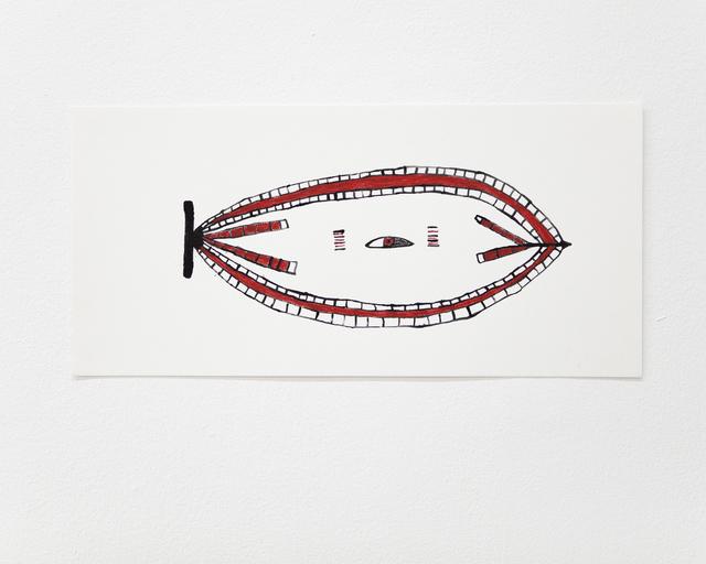 , 'Koremi jena (La hoja de loro real),' 2016, ABRA