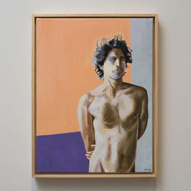 , 'Standing Male Nude,' 2017, Jen Mauldin Gallery
