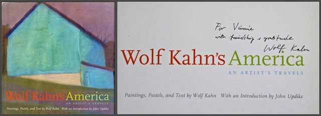 , 'Wolf Kahn's America (Hand signed and inscribed),' 2003, Alpha 137 Gallery