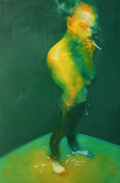, 'Man Smoking,' 2016, de Sarthe Gallery