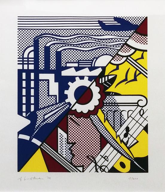Roy Lichtenstein, 'INDUSTRY AND THE ARTS II', 1969, Gallery Art