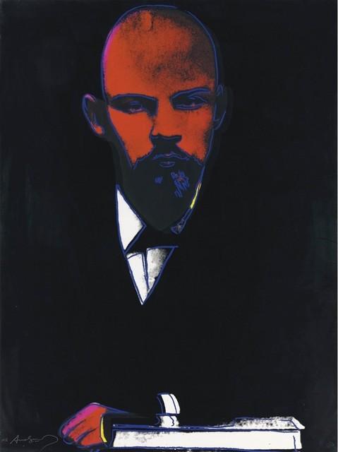 Andy Warhol, 'Black Lenin (FS II.402) ', 1987, Frank Fluegel Gallery