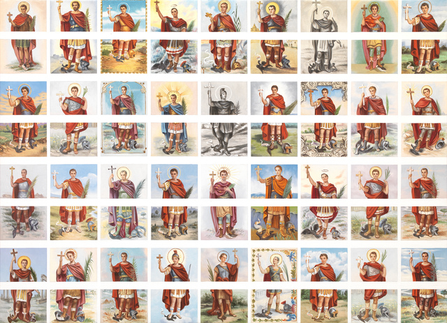 , 'donotclickthru (Santo Expedito),' 2015-2016, Galleria Pack