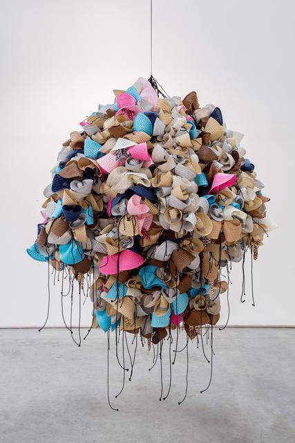 , 'Hats,' 2016, La Patinoire Royale / Galerie Valerie Bach