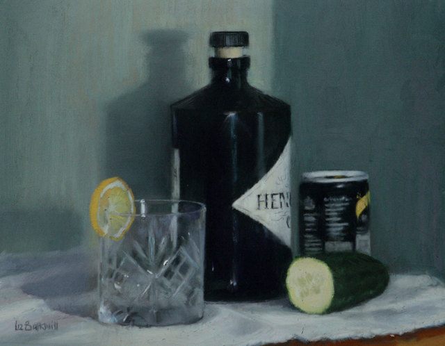 , 'Gin O'Clock,' 2017, Mall Galleries